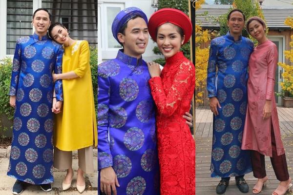 """Diện lại áo cưới, ông xã Tăng Thanh Hà còn khiến fans """"phát sốt"""" vì hành động """"giữ vợ"""" đáng yêu thế này đây"""