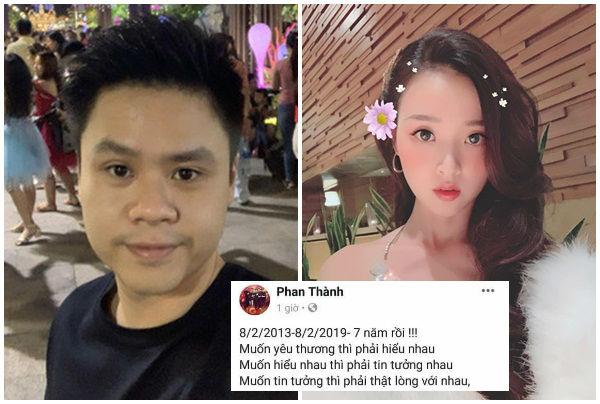 """Chia tay bạn gái, Phan Thành """"nhắc nhẹ"""" mối tình 7 năm, đáng sợ là phản ứng của MiDu"""