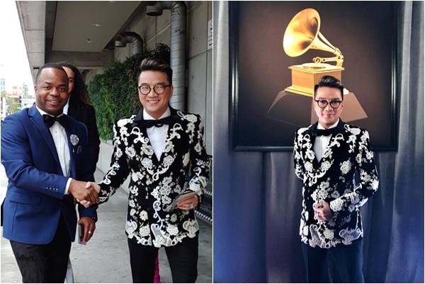 Đàm Vĩnh Hưng diện cả cây D&G bất ngờ là đại diện danh dự của Việt Nam tại Grammy 2019