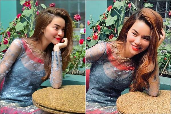 """Mặc ồn ào, thị phi Hồ Ngọc Hà vẫn khiến fans """"truỵ tim"""" bởi vẻ đẹp hoàn hảo ở tuổi 35"""