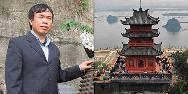 Phía sau chùa Tam Chúc là vị đại gia nổi tiếng với những dự án khủng để đời này