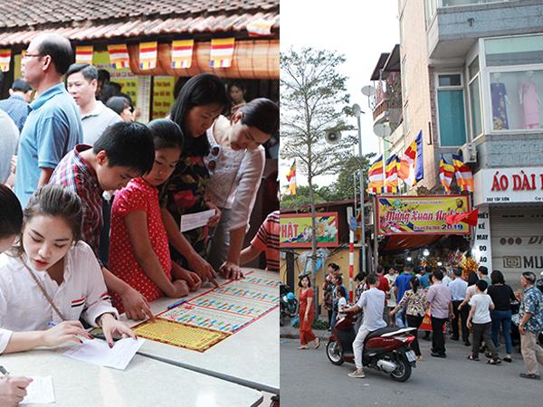 Người người, nhà nhà đổ xô đi dâng sao giải hạn đầu năm ở chùa Phúc Khánh - ngôi chùa linh thiêng giữa Hà Nội