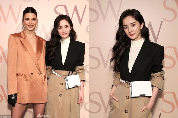 """Đứng chung một khung hình, 2 đại mỹ nhân Dương Mịch và Kendall Jenner khiến dân tình """"mãn nhãn"""" bởi vẻ đẹp xuất thần"""