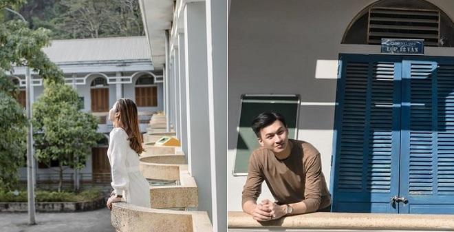 Một mình thăm trường cũ vì rủ họp lớp chẳng ai đi, cậu bạn ngẫu hứng chụp bộ ảnh trường cũ đẹp như phim Hàn
