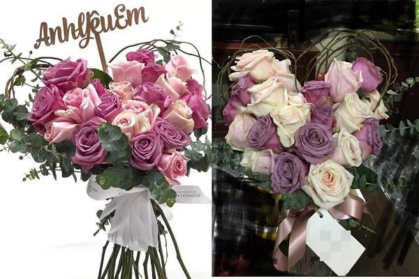 Góc cảnh báo khi mua hoa ngày Valentine: Bỏ ra 1 triệu 2, chàng trai mua về bó hoa khô, héo rũ khác hẳn hình quảng cáo