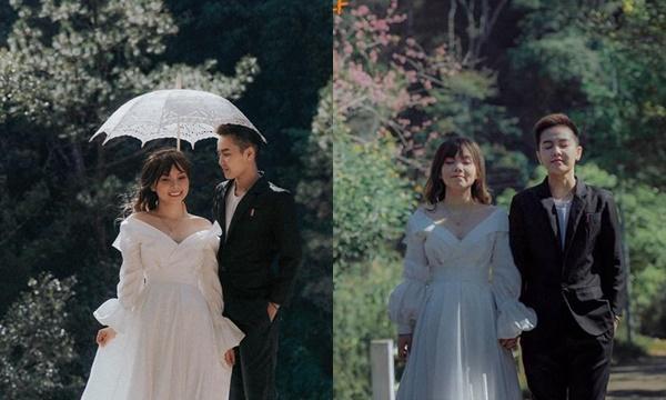 Bi Bảo khoe ảnh cưới nịnh vợ đẹp như phim Hàn đúng dịp Valentine: Đâu cần socola, ga lăng như này là đủ!