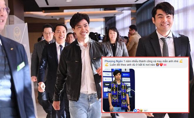 """Công Phượng đăng ảnh """"chất"""" ngày ra mắt Incheon United, fan gửi muôn lời chúc dễ thương"""