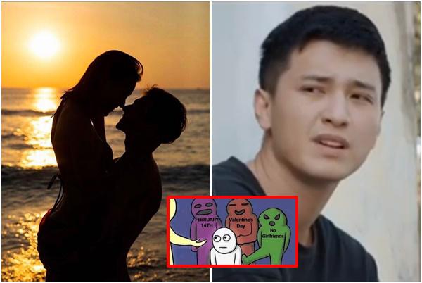 """Valentine, Hoàng Oanh công khai """"ảnh nóng"""" với bạn trai Tây và phản ứng """"khó chịu"""" của Huỳnh Anh"""