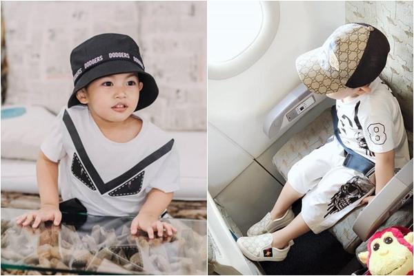 """Nhìn kho hàng hiệu đã có khi mới 3 tuổi, con trai Khánh Thi đúng xứng tầm là """"Rich Kid"""" chính hiệu của Vbiz"""