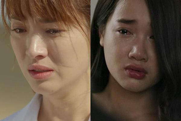 """Cùng là """"nữ hoàng nước mắt"""" nhìn Song Hye Kyo xinh đẹp là thế, sang Nhã Phương nhìn đến là """"mệt"""""""