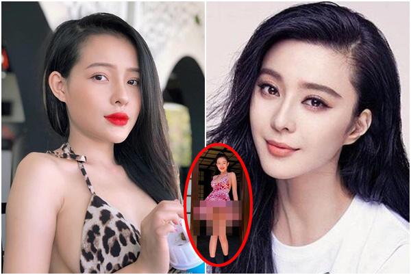 """Bạn gái Lương Bằng Quang bị CĐM """"vả nát mồm"""" vì tự nhận giống Phạm Băng Băng?"""