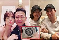 Hari Won lại khoe quà tiền tỷ tặng Trấn Thành, còn vợ mới Tiến Đạt khiêm tốn thích yêu giản dị thôi!