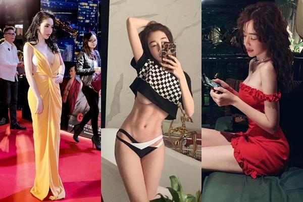 """Elly Trần khiến khán giả """"hoang mang"""" tột độ bởi """"đôi gò bồng"""" lúc phồng lúc xẹp"""