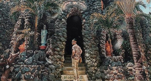 """Đứng hình ngôi chùa 100% từ """"vỏ ốc"""" độc nhất vô nhị Việt Nam khiến CĐM thích thú"""