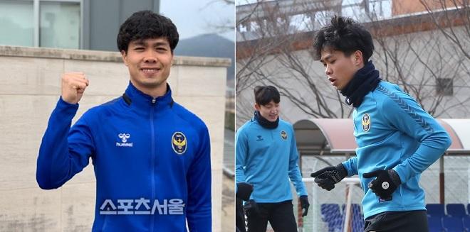 Công Phượng ghi bàn ngay trong trận đấu đầu tiên ra mắt Incheon United