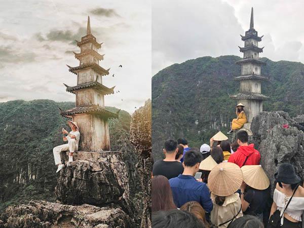 Hóa ra đằng sau một shoot hình ảo diệu ở Ninh Bình là cả một sự chờ đợi đầy kiên nhẫn