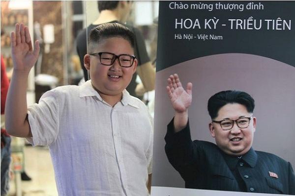 """""""Lỡ"""" có ngoại hình quá giống ông Kim Jong Un, cậu bé Việt lên báo ngoại, được """"săn đón"""" chụp hình quảng cáo"""