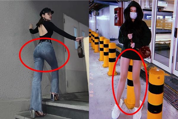 """""""Cuộc chiến"""" photoshop bóp méo vạn vật của Chi Pu và Linh Ka cũng """"một 9 một 10"""" ra phết đấy"""
