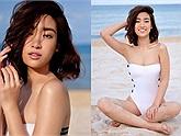 """Hiếm khi diện bikini, nhưng một khi đã khoe Đỗ Mỹ Linh khiến ai cũng phải """"trầm trồ"""" ra phết"""