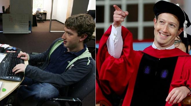 """Xem loạt ảnh thời sinh viên của Mark Zuckerberg nhận ra """"khổ trước sướng sau"""" mới thành tỷ phú được"""