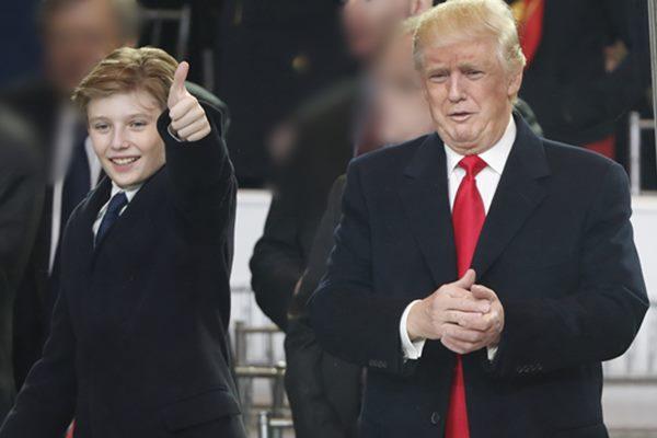 """Sự thật thú vị ít biết về """"Hoàng tử út"""" nhà Trump: Thích mặc vest, 13 tuổi đã cao hơn 1m90"""