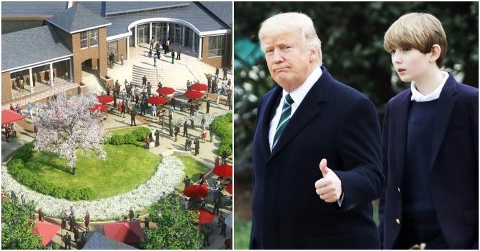 """""""Đệ nhất công tử"""" nước Mỹ Barron Trump được cha mẹ đặc cách học ở ngôi trường tuyệt vời này"""