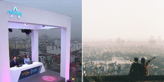 Vì sao báo chí quốc tế đều làm bản tin trên những nóc nhà ở Hà Nội? Xem ảnh mới hiểu