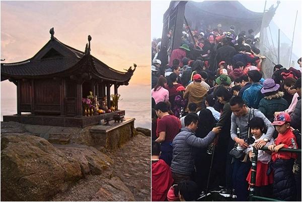 """Phải xếp hàng bao lâu, """"canh"""" bao phút để có một shoot hình chùa Đồng Yên Tử giữa trời mây """"thanh tịnh"""" đến thế?"""