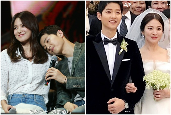 """Trước khi dính tin đồn """"phản bội"""" vợ, Song Joong Ki từng ngọt ngào âu yếm Song Hye Kyo thế này"""