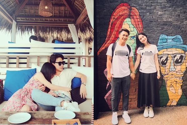 """Loạt ảnh đồ đôi """"tình bể bình"""" của Hoà Minzy bên bạn trai báo hiệu """"ngày vui"""" kiểu gì cũng phải đến"""