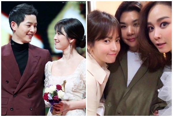 """Ơn giời, bằng chứng minh oan việc Song Joong Ki """"léng phéng"""" với bạn thân của vợ đã có rồi!"""