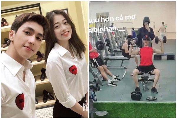 Góc đề phòng: Có người yêu đẹp trai đi tập gym, Phương Nga phải canh giữ quá cẩn thận!
