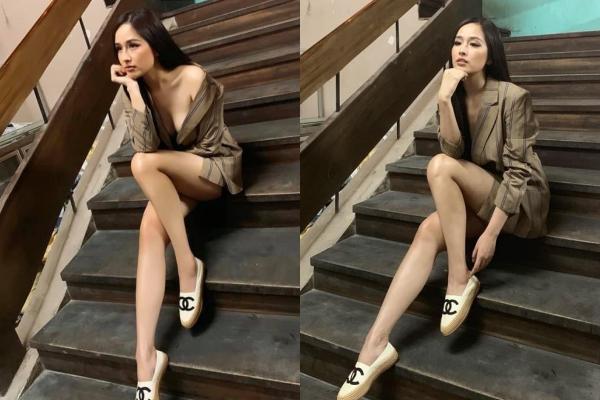 """Đăng ảnh kỉ niệm bữa ăn sáng, Mai Phương Thúy lại khiến dân tình """"trầm trồ"""" vì style """"hững hờ"""""""