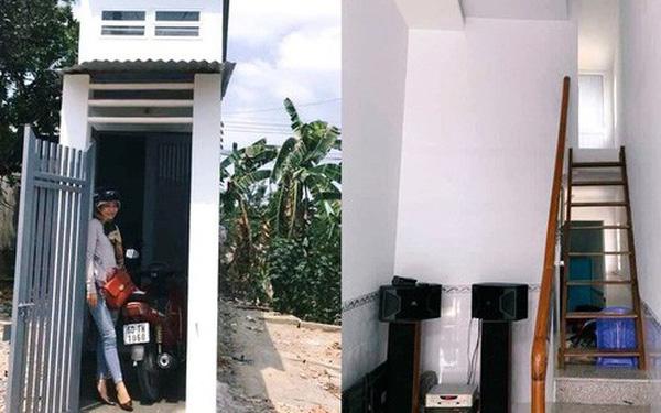 Choáng với ngôi nhà có mặt tiền 1,3 m mỏng như cột điện nhưng thiết kế bên trong lại khá rộng
