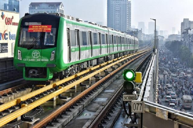 Giá vé dự kiến của tuyến đường sắt Cát Linh - Hà Đông là 200.000 đồng tháng và 30.000 đồng/ngày