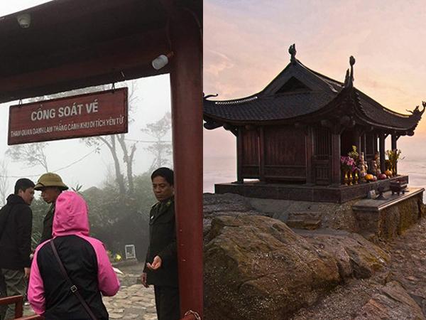 """Gây tranh cãi việc """"phải có tiền mới vào được cửa chùa"""" trên đỉnh non thiêng Yên Tử"""