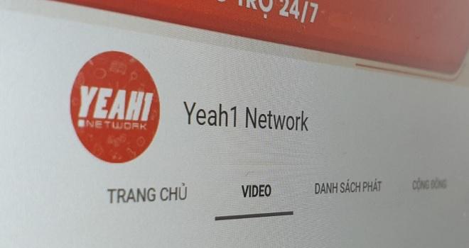 """Bị YouTube chấm dứt CHSA, vốn hóa của Yeah1 Group """"bốc hơi"""" trên 1.000 tỷ đồng"""