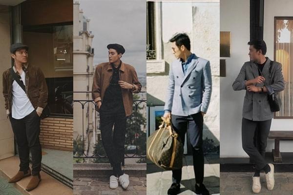 """Gu thời trang """"tưởng không giống, mà giống không tưởng"""" của cặp nam - nam """"chân dài"""" Quang Đại và Thiên Minh"""
