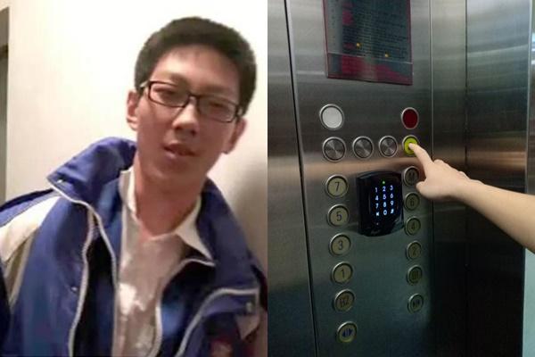 Bị kẹt trong thang máy suốt 5 tiếng, nam sinh bình thản lấy bài tập ra làm và cái kết đừng bao giờ coi thường mọt sách