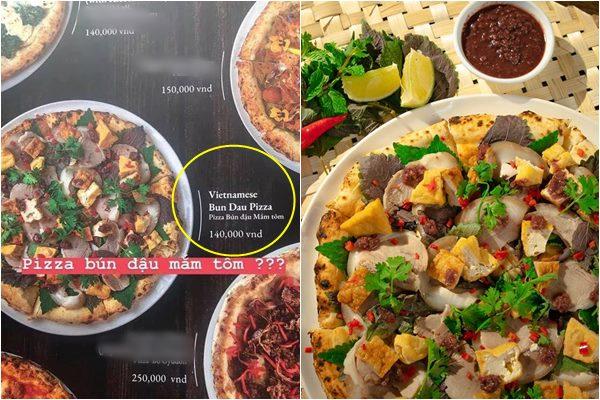"""Thực hư món """"Pizza bún đậu mắm tôm"""" đang gây sốt CĐM có """"ngon"""" như lời đồn"""