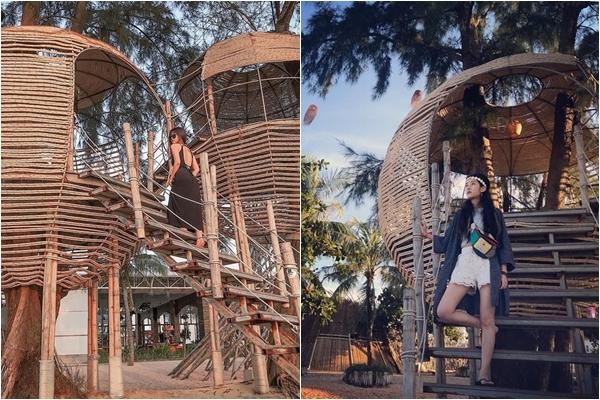 """Cổng trời xưa rồi, giờ tới Phú Quốc phải check-in nhà gỗ lơ lửng trên cây mới đúng """"trend"""""""
