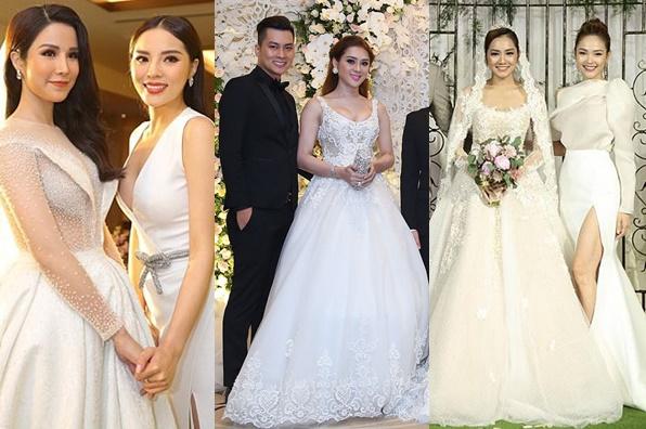 Nếu có tổ chức đám cưới, chớ mời những mỹ nhân này không chẳng biết ai mới là cô dâu