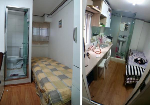 """Trải nghiệm phòng trọ """"hộp diêm"""" diện tích 3 mét vuông dành cho sinh viên và người nghèo ở Hàn Quốc"""
