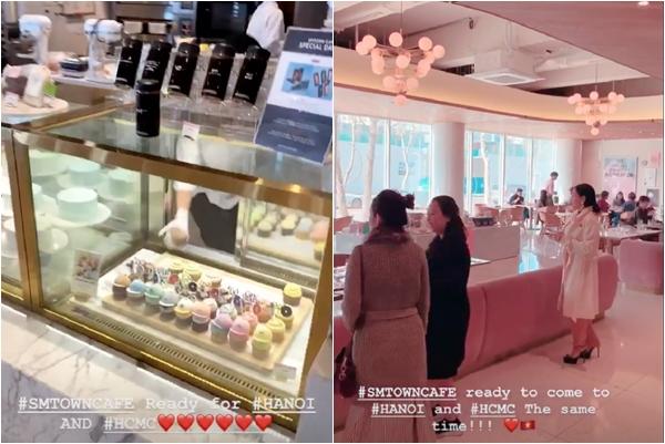 Không còn là dự định, 2 quán cafe mang thương hiệu SMTown sắp khai trương ở cả Hà Nội và Hồ Chí Minh