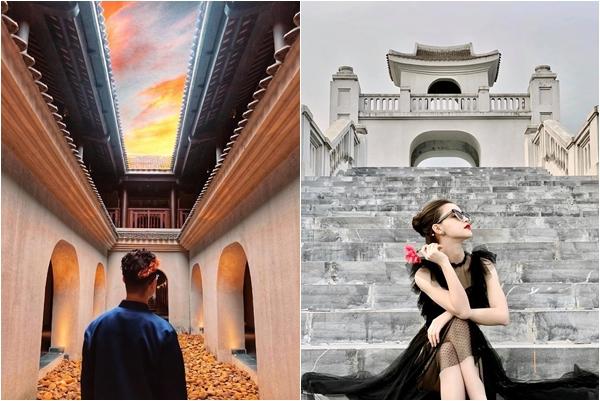 """Đứng hình trước """"Thiên đường cổ trang"""" đẹp xuất thần mới nổi ở Yên Tử"""