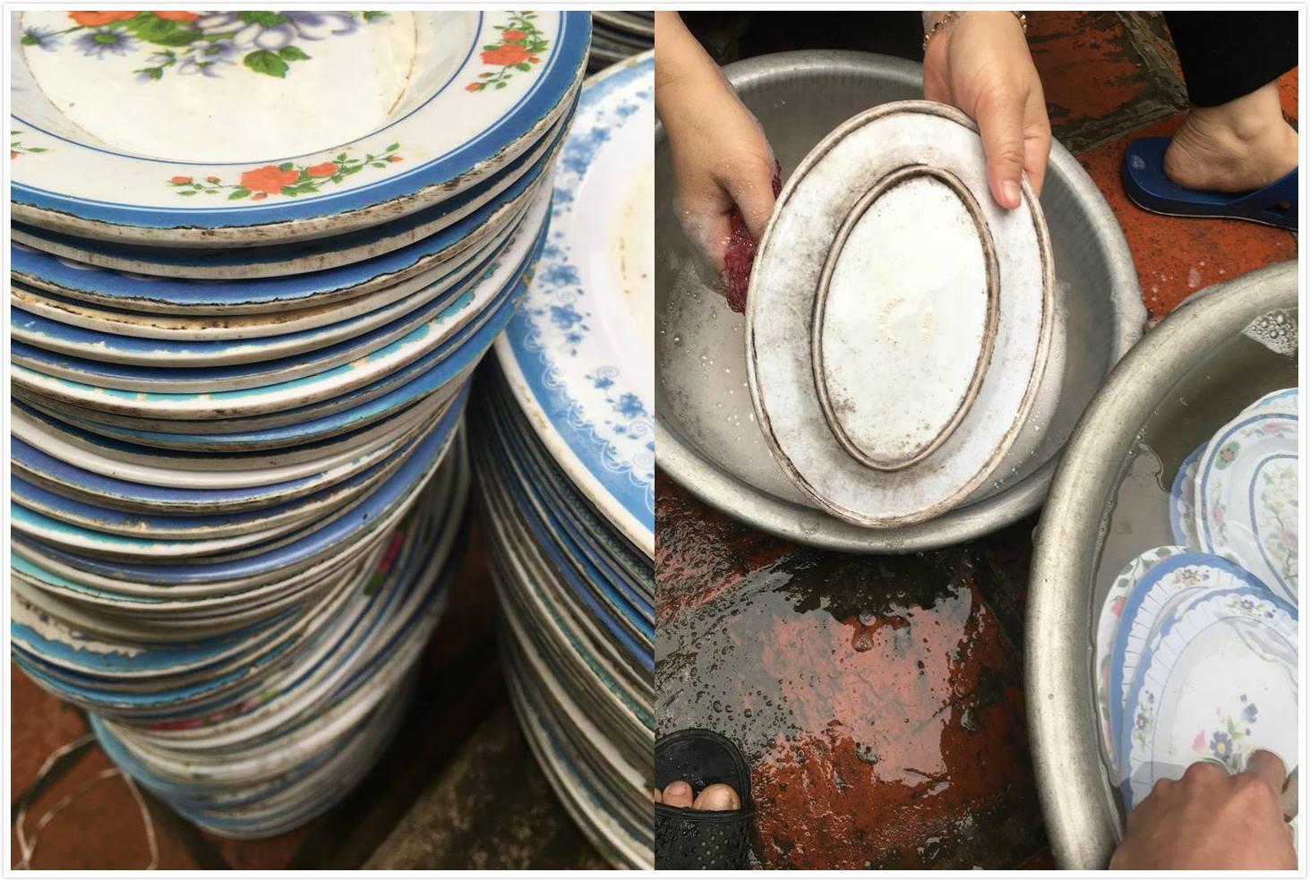 Thanh niên khóc ròng khi bỏ hơn chục triệu thuê bát đĩa ăn đám cưới nhưng nhận toàn bát mốc đen sì