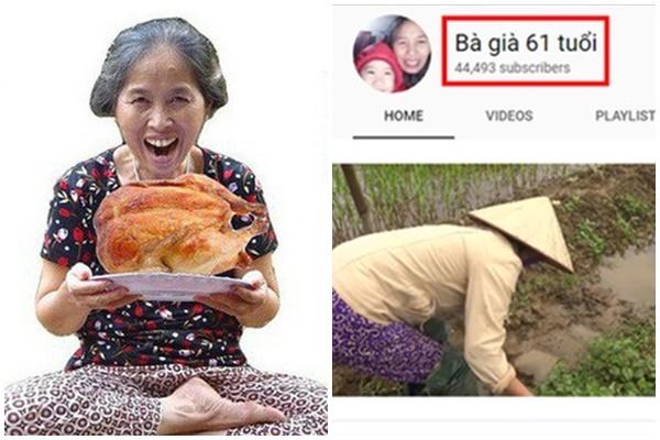 """""""Bà già 61 tuổi"""" bỗng """"tỏa sáng"""" với kênh YouTube hàng triệu view chỉ với mấy video đơn giản"""