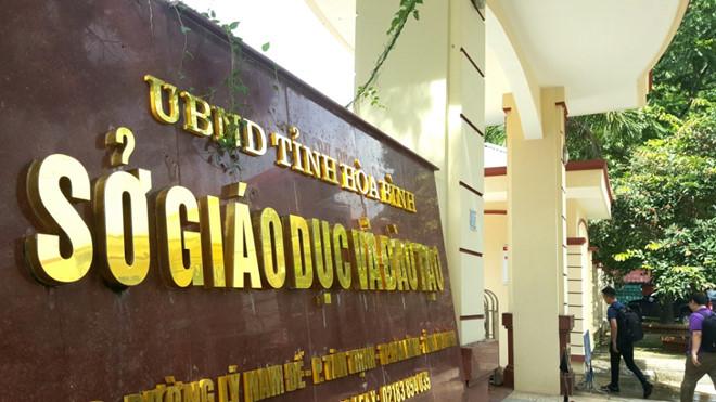 Kết luận điều tra vụ gian lận điểm thi ở tỉnh Hòa Bình: Có bài thi nâng gần 10 điểm