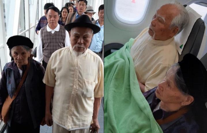 """Cụ ông 92 tuổi khiến """"thiên hạ trầm trồ"""": Chơi lớn, chi toàn bộ chuyến đi Đà Lạt - Nha Trang cho vợ và 12 người con"""