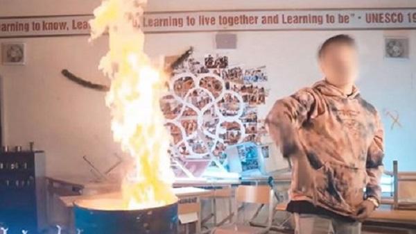 Vụ rapper bị tố đốt sách: Đại diện trường Ams khẳng định không cho thuê phòng để quay MV